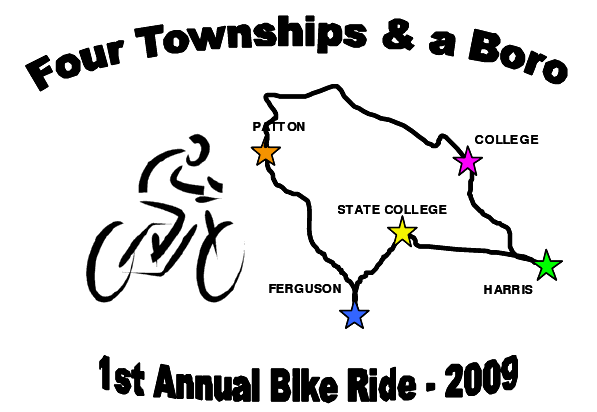 Bike To Work Week :: Join in the first annual 4 Townships & a Boro ride!